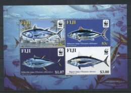 Fiji 2004 WWF Pacific Tuna MS MUH - Fiji (1970-...)