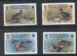South Georgia 1992 WWF South Georgia Teal MUH - South Georgia