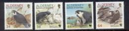 Alderney 2000 WWF Peregrine Falcon MUH - Alderney