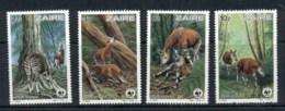 Zaire 1984 WWF Okapi MUH - Zaire