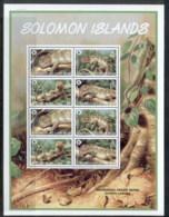 Solomon Is 2005 WWF Prehensile Tailed Skink MS MUH - Solomon Islands (1978-...)