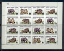 Guinee 2009 WWF Giant Forest Hog Sheetlet MUH - Guinea (1958-...)