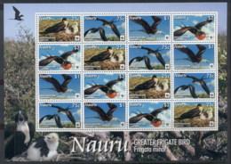 Nauru 2008 WWF Greater Frigate Bird MS Muh - Nauru