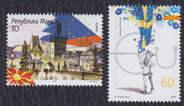 Macedonia 2009 Planned Accession Of Macedonia To The European Union, MNH (**) Michel 505-506 - Mazedonien