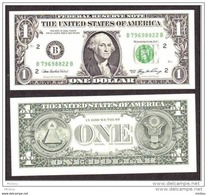 USA, États-Unis, 1$, Washington, Series 2006 - Billets De La Federal Reserve (1928-...)