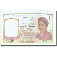 Billet, FRENCH INDO-CHINA, 1 Piastre, Undated (1932-1939), KM:54e, SPL+ - Indochine