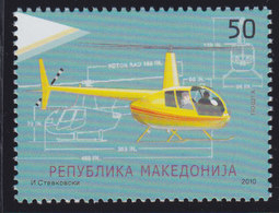 Macedonia 2010 Mode Of Transport - Helicopter, MNH (**) Michel 534 - Macedonia