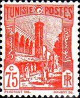 Tunisie Poste N** Yv:133 Mi:133 Mosquée Halfaouine Tunis - Tunisia (1888-1955)
