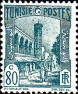 Tunisie Poste N** Yv:135 Mi:135 Mosquée Halfaouine Tunis (Petit Def.gomme) - Tunisia (1888-1955)