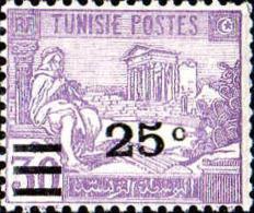Tunisie Poste N** Yv:156 Mi:164 Joueur De Flûte & Ruines Du Capitole De Dougga (Dent 1 Peu Courte) - Tunisia (1888-1955)