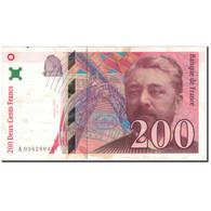 France, 200 Francs, 200 F 1995-1999 ''Eiffel'', 1996, TTB, Fayette:75.3a - 1992-2000 Ultima Gama