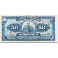 Billet, Pérou, 50 Soles De Oro, 1965-08-20, KM:89a, TTB - Pérou