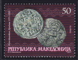 Macedonia 2011 Cultural Heritage - Medieval Coins, MNH (**) Michel 582 - Mazedonien