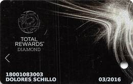 Harrah's Casino Multi-Property - TR Platinum Slot Card @2015 With C4-4370007 - Casino Cards