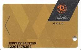 Harrah's Casino Multi-Property - TR Gold Slot Card @2015 With C-00266583B - Casino Cards