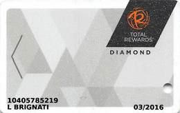 Harrah's Casino Multi-Property - TR Diamond Slot Card @2015 With C-00266583C - Casino Cards