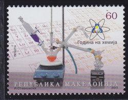 Macedonia 2011 International Year Of Chemistry, MNH (**) Michel 587 - Macedonia