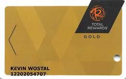 Harrah's Casino Multi-Property - TR Gold Slot Card @2015 With LVC-00266583B - Casino Cards