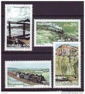 D101225 Transkei 1989 South Africa TRAINS BRIDGES Railway MNH Set - Afrique Du Sud Afrika RSA Sudafrika - Transkei