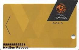 Harrah's Casino Multi-Property - TR Gold Slot Card @2015 With LVC-00266583B - NxtGen Reboot Card - Casino Cards