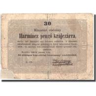 Billet, Hongrie, 30 Pengö Krajczar, 1849, 1849-01-01, KM:S122, B+ - Hongrie