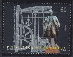 Macedonia 2011 Inventor James Watt, MNH (**) Michel 590 - Mazedonien
