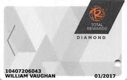 Harrah's Casino Multi-Property - TR Diamond Slot Card @2016 With C2-00266583C - Casino Cards
