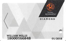 Harrah's Casino Multi-Property - TR Diamond Slot Card @2017 With C5-00266583C - Casino Cards