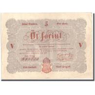 Billet, Hongrie, 5 Forint, 1848, 1848-09-01, KM:S116a, TTB+ - Hongrie