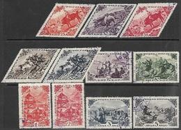 Tannu Tuva   1936   Sc#82-92  Used  2016 Scott Value $18.40 - Touva