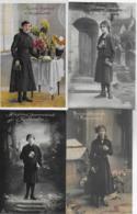 AK 0131  Glückwünsche Zur Konfirmation - Vier Karten Ca. Um 1920 - Feiern & Feste