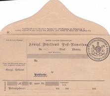 Entier Neuf De Mandat Postale - Wurtemberg