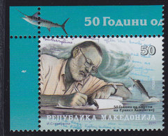 Macedonia 2011 Writer Ernest Hemingway, MNH (**) Michel 605 - Mazedonien