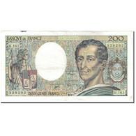 France, 200 Francs, 200 F 1981-1994 ''Montesquieu'', 1994, TTB, Fayette:70.2.1 - 1962-1997 ''Francs''
