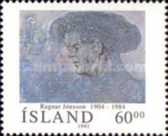 USED STAMPS Iceland - The Composer And Organist Páll Ísólfsson- 1991 - 1944-... Republik