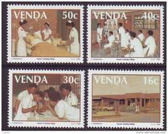 D101225 Venda 1988 South Africa NURSING MEDICAL MNH Set - Afrique Du Sud Afrika RSA Sudafrika - Venda