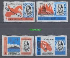Khor Fakkan 1966 Mi 46-49 MNH ( ZS10 SHK46-49 ) - Sir Winston Churchill