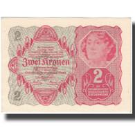 Billet, Autriche, 2 Kronen, 1922-01-02, KM:74, SPL - Autriche