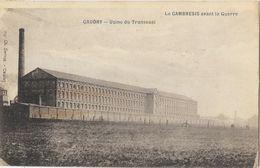 Le Cambresis Avant La Guerre - Caudry (Nord) - Usine Textile De Transvaal (Carpentier & Preux) - Edition Berger Frères - Caudry