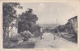 88----RARE---GIRECOURT SUR DURBION---route De Dompierre--voir 2 Scans - Sonstige Gemeinden
