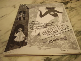 ANCIENNE PUBLICITE GRAND PRIX DE 1937 DENTELLASTEX 1952 - Habits & Linge D'époque