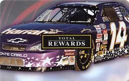 Harrah's Casino:   Harrah's Race Car Slot Card BLANK - Casino Cards