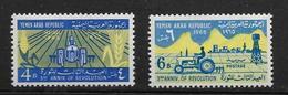 YEMEN 1969 REVOLUTION  YVERT N°115/16  NEUF MNH** - Yemen