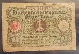 EBN7 - Germany Weimar Republic 1920 Banknote 1 Mark Pick 58 - [ 3] 1918-1933 : Weimar Republic