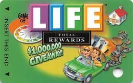 Harrah's Casino Game Of Life BLANK Slot Card - Casino Cards