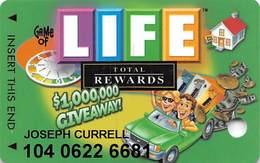 Harrah's Casino Game Of Life Slot Card - Casino Cards