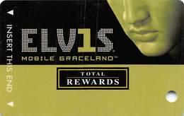Harrah's Casino BLANK Elvis Slot Card - No Signature Strip - Casino Cards
