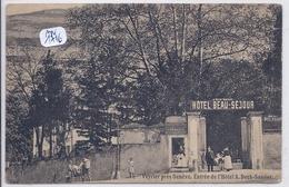 GE- VEYRIER- ENTREE DE L HOTEL A.DECK-SANDOZ - GE Genève