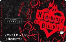 Harrah's Casino House Of Blues Slot Card - Casino Cards