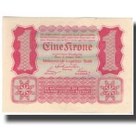 Billet, Autriche, 1 Krone, 1922-01-02, KM:73, SPL - Autriche